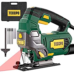 The TECCPO TAJS01P jigsaw for intermediate woodworkers & DIYers