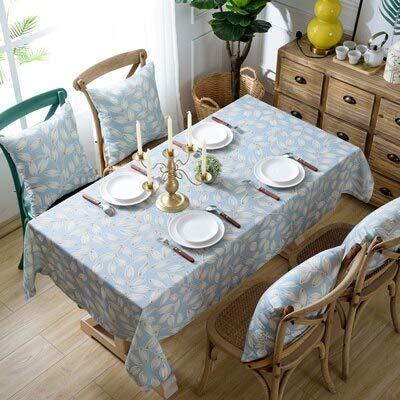 XXDD Mantel de Lino Impermeable Rectangular decoración de la Boda Mantel decoración de la Cocina paño de Fiesta en casa A3 140x160cm