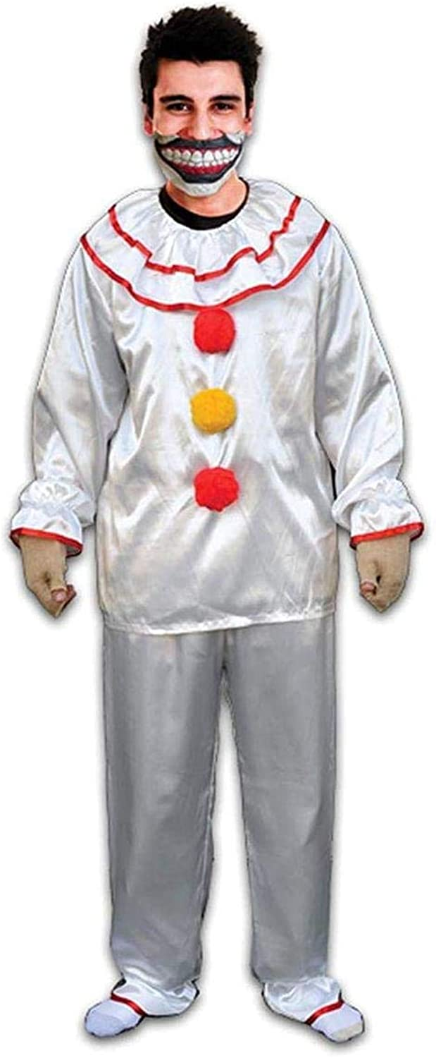 American Horror Story Freak Show Twisty the Clown Adult Costume w  Mouth Piece