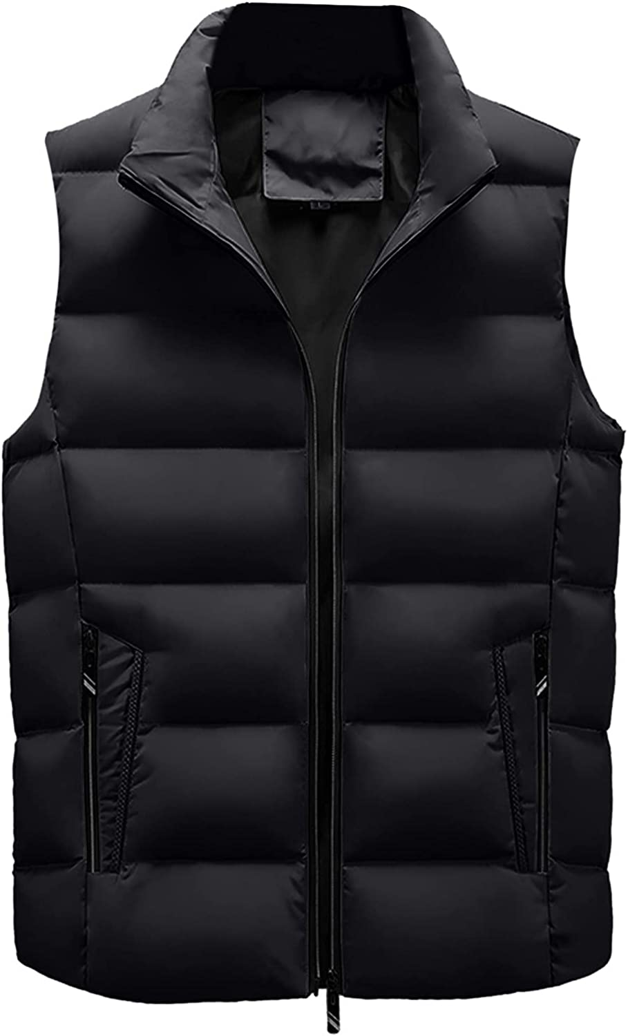 Men's Autumn Winter Fashion Clearance Jacket Online limited product C Solid Choice Puffer Vest