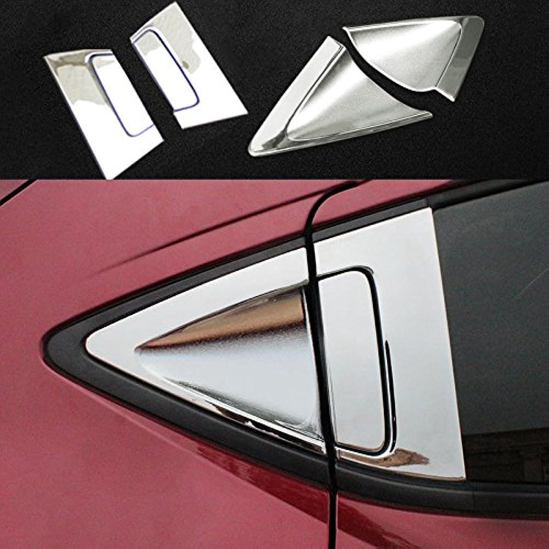 自伝メッセージフットボールJicorzo - ABSクローム車のリアのドアホンダHRV HRV 2014-2018カーエクステリアアクセサリースタイリングのためにボウルカバートリムガーニッシュハンドル