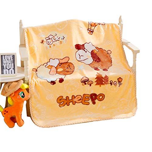 Xief Manta para bebés Sherpa Manta para niños Mantas de Cama para niños Ropa de Cama para niños Manta de guardería Gruesa Grande Niño recién Manta de Felpa para niños Niñas Cunas Colcha Oveja