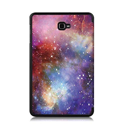 Xuanbeier Ultradünne Hülle Kompatibel mit Samsung Galaxy Tab A 10.1 2016 SM-T580/T585 (A6) Tablette Schutzhülle mit Ständer und Auto Schlaf/Wachen Funktion,Galaxy