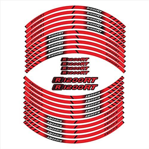 Pegatinas de decoración de neumáticos de la Motocicleta Pegatinas de llanta Interna de Rim para BMW R1200RT R1200 RT (Color : 3)