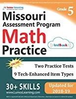 Missouri Assessment Program Test Prep: 5th Grade Math Practice Workbook and Full-length Online Assessments: MAP Study Guide