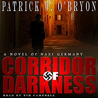 Corridor of Darkness audiobook cover art