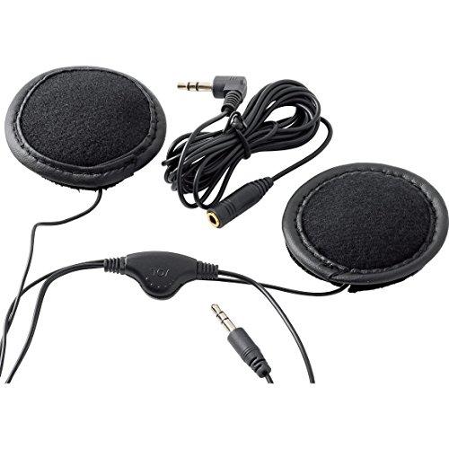 Polo Kommunikationsgerät Motorrad Stereo Kopfhörer für Jet-, Klapp- & Integralhelme, Unisex, Multipurpose, Sommer