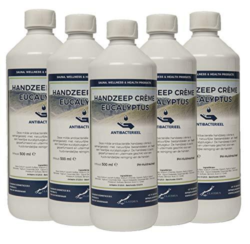 Handzeep Crème Eucalyptus 5 x 500 ml