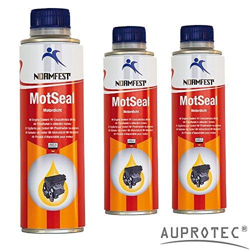 Preisvergleich Produktbild Auprotec® Normfest Motordicht Mot Seal Motor Dichtmittel Motordichtung Dichtstoff Öl Zusatz (3 Dosen)