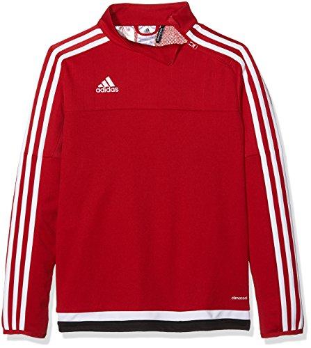 adidas Kinder Sweatshirt Tiro15 training t y, Power Red/White/Black, 164