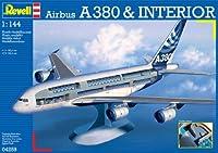 ドイツレベル 1/144 エアバスA380 w/インテリア プラモデル