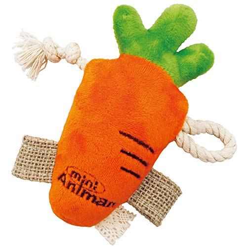 ドギーマン『ミニアニマンウサギのおもちゃなかよしにんじん』
