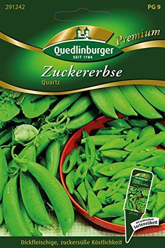 Quedlinburger 291242 Zuckererbsen Quartz (Zuckererbsensamen)
