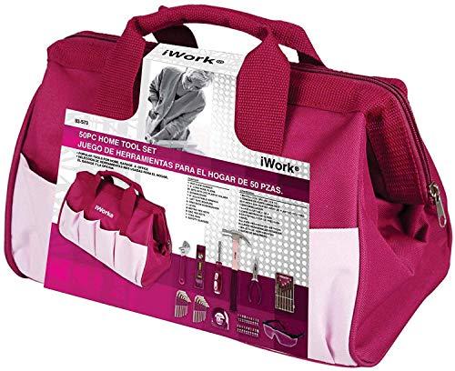 iWork Werkzeugtaschen-Set, 50-teilig, 83-573-DIS