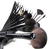 YZZ 24 PCS Professional Maquillaje Cepillo Conjunto Premium Synthetic Brush Foundation Blush Corrector Concurrente Polvo Líquido Crema Face Sombreado Eyeshadow Cepillos Kit
