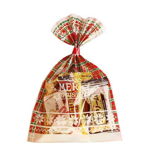 クリスマス袋 6袋 お菓子 詰め合わせ(Lセット) 駄菓子 袋詰め おかしのマーチ