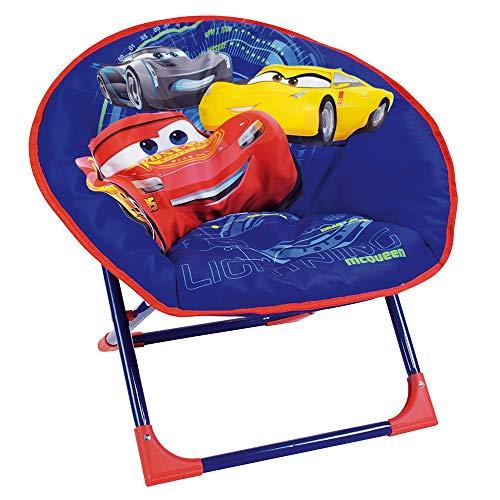 Fun House - 712343 - DISNEY CARS Siège lune pliable pour enfant