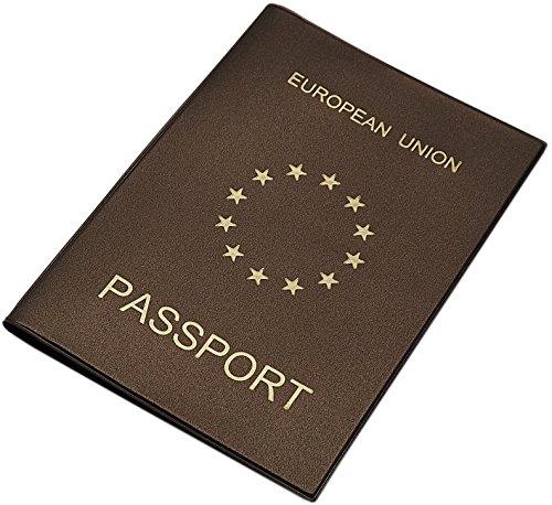 Reisepass Schutzhülle Made in EU in 3 Farben (Braun)