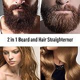 Zoom IMG-1 hiveseen spazzola lisciante barba raddrizzatore