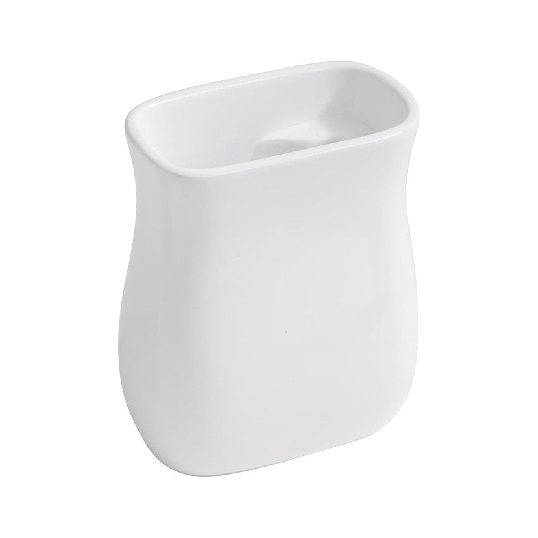 スタウト特派員ケイ素イデアコ 流せるトイレブラシスタンド SB pot すっきりスタンド?ホワイト