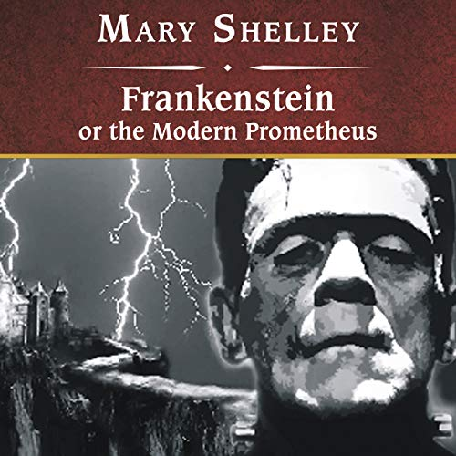 Frankenstein, or The Modern Prometheus copertina