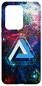 Galaxy S20 Ultra Penrose Tribar optical illusion impossible triangle maths Case