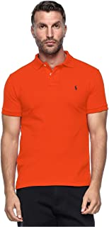 Polo Ralph Lauren Custom Fit Short Sleeve Mesh Polo Shirt For Men - Medium