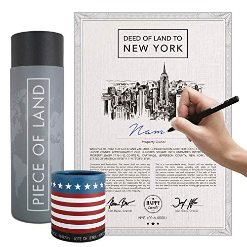happylandgifts® Real New York property as a unique...