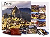 "DA CHOCOLATE キャンディ スーベニア ""ペルー"" PERU チョコレートセット 5×5一箱 (Mountain)"