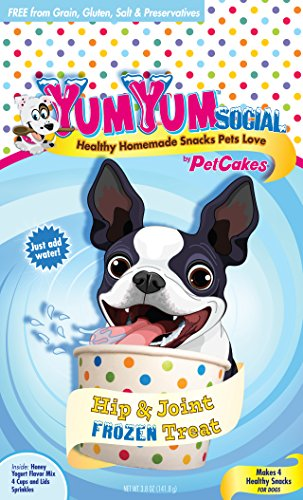 Yumyum Social 859989002761 Frozen Yogurt Dog Treats Healthy Homemade Frozen Yogurt Ice Cream For Pets, Small