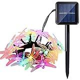 Joomer 1Pack 20 LED solar string lights, Multicolor