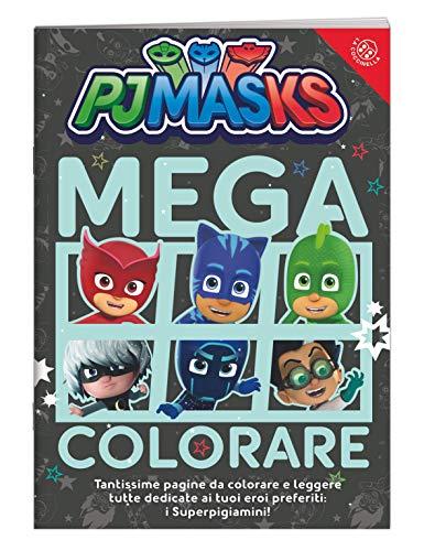 Mega colorare! Pj Masks. Ediz. a colori
