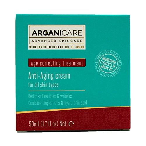 Arganicare Argan Oil Anti-Aging Cream, 1.7 Fluid Ounce