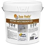 TECPINT ANTICONDENSACIÓN de Tecno Prodist - (14 Litros) - Pintura Anti-condensación y Anti-moho al Agua para Interior y Exterior - Paredes y Techos -gran cubrición - Fácil Aplicación - (BLANCO)