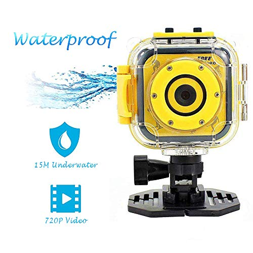 【2018 version】SINUK Kids Sports Action Camera ,Waterproof HD Digital Video Camcorder 1.77inch LCD Screen Boys & Girls  Birthday /Holiday Gift