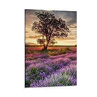絵のような風景3植物の風景ポスターキャンバスアートポスターと壁アート写真プリント家族の寝室オフィスの装飾ポスター20×30インチ(50×75cm)
