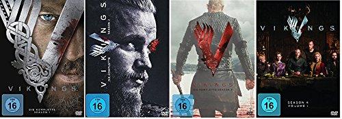 Vikings Staffel 1-4.1 (1+2+3+4.1) / [DVD Set]