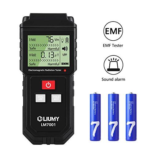 LIUMY 7001 Strahlung Detektor digitales Strahlenmessgerät Handheld Design mit LCD- Hintergrundbeleuchtung Anzeige