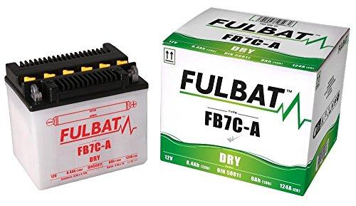 Yamaha TW 125 H/N Trailway, 1999-2001, FB7C-A, DIN50811, YB7C-A DRY Fulbat Batterie m. Säurepack
