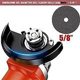 Immagine 2 kit smerigliatrice angolare senza spazzole