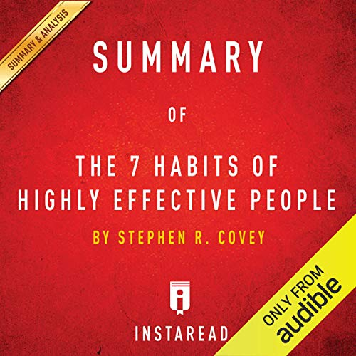 Summary of 'The 7 Habits of Highly Effective People' by Stephen R. Covey | Includes Analysis Titelbild