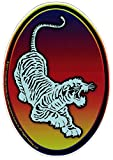 Grateful Dead Jerry Garcia Tiger Guitar Emblem - Window Sticker/Decal (4' X 6')