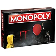 Monopoly IT Board Game | Based on The 2017 Drama/Thriller IT | Officially Licensed IT Merchandise | Themed Classic Monopoly Game