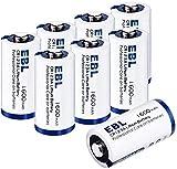 🔋 【 Non Ricaricabili】: Come 123A, BR 2/3A, CR123, CR123A, CR123R, CR17335, CR17345, DL123A, EL123AP, K123, K123A, K123LA, L123A, RCR123, SF123A, VL123A, VL123A.(Non Ricaricabili) 🔋【Basso Auto-Scarico】: La batteria CR123A adotta la tecnologia di autos...