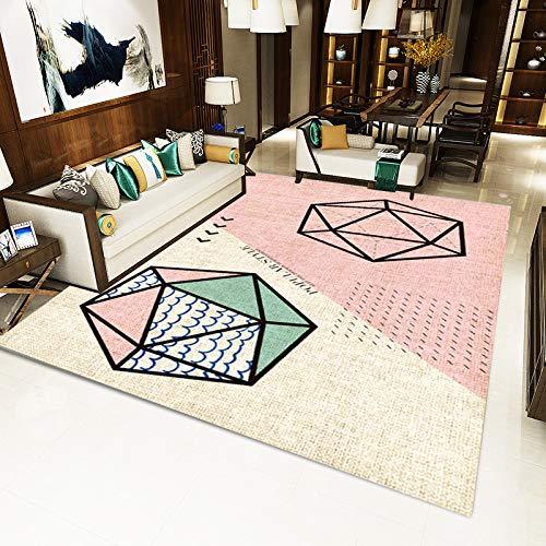 chenbyyao Einfaches nordisches Muster- Haus 180 * 280CM SD-JO60,Zelt - Indianerzelt, Wigwam, Spielzelt, Kinderzelt, Spielhaus mit gedrucktem Motiv für Kinder
