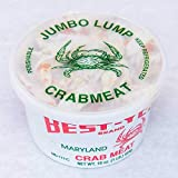 Cameron's Seafood Maryland Crab Meat - Jumbo Lump 1 Pound