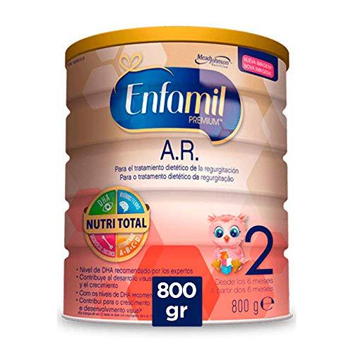 Enfamil Premium A.R.2 - Leche infantil anti regurgitación para bebés lactantes a partir de 6 meses