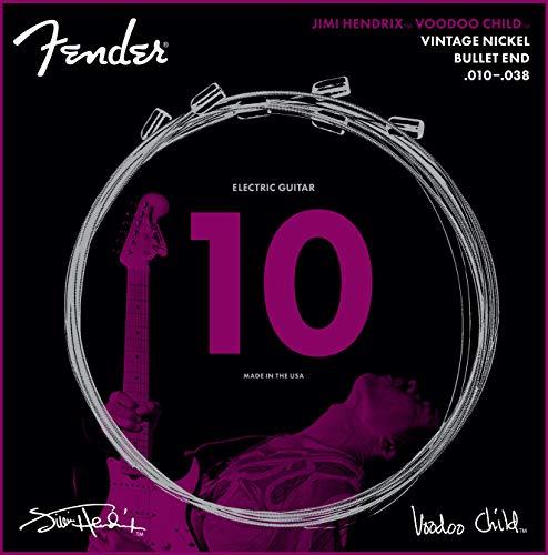 Fender Jimmy Hendrix - Voodoo Child - String Set - 010-038 - Nickel-Plated...