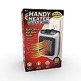 Handy Heater Turbo 800 Watt Space-Saving Wall Outlet Heater