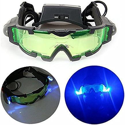 b6bf1fc7ed Gearmax® Gafas de Visión Nocturna con Azul Flip-fuera Llevaron Luces